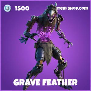 Grave Feather Fortnite Skin