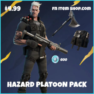 Hazard Platoon Pack Fortnite Starter bundle