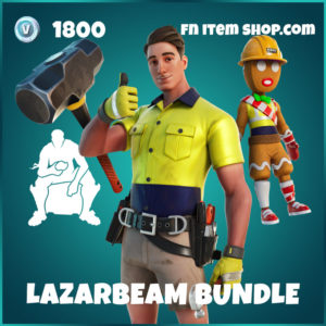 Lazarbeam Fortnite Bundle