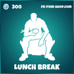 Lunch Break FOrtnite Emote