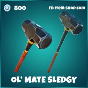 Ol' Mate Sledgy Fortnite Harvesting Tool