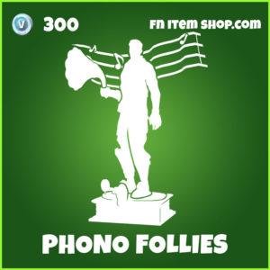 Phono Follies Fortnite Emote