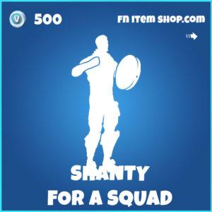 Shanty for a squad Fortnite Emote