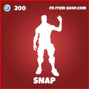 Snap Thanos Fortnite Emote