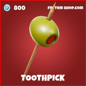 Toothpick Ant-man harveseting tool fortnite