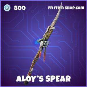Aloy's SPear Fortnite pickaxe