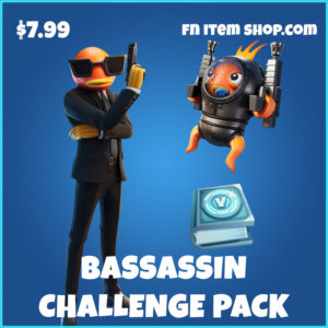 Bassassin Challenge Fortnite Pack