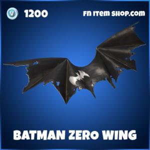 Batman Zero Wing Fortnite Glider