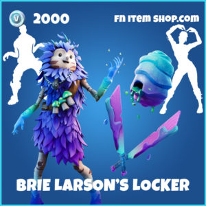 Brie Larson's Locker Fortnite BUndle