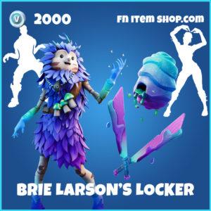 Brie Larson's Locker Fortnite BUndle