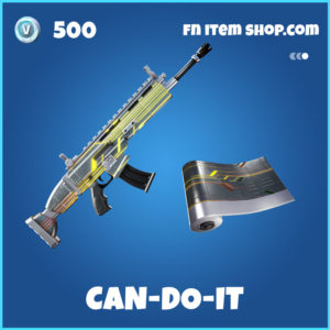Can-Do-It Fortnite Wrap