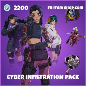 Cyber Infiltration Pack Fortnite Bundle