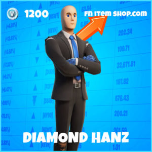 Diamond Hanz Fortnite Skin