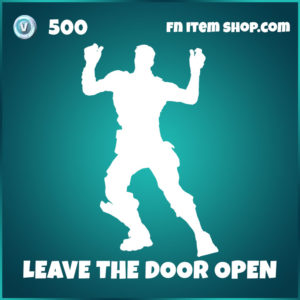 Leave the door open bruno mars fortnite emote