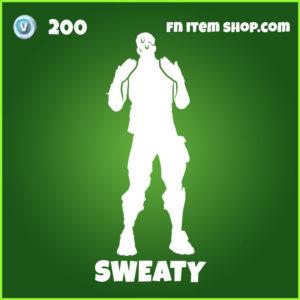 Sweaty Fortnite Emote