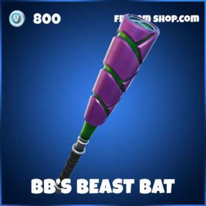 BB's Beast Bat Fortnite Harvesting Tool PIckaxe