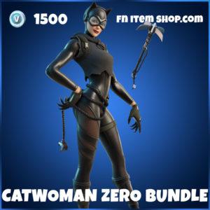 Catwoman Zero Bundle Fortnite skin