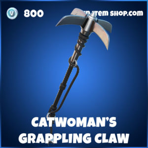 Catwoman's Grappling Claw Fortnite Harvesting Tool Pickaxe