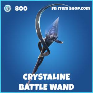 Crystaline Battle Wand Fortnite harvesting tool pickaxe