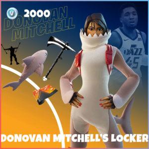 Donovan Mitchell's Locker Fortnite Bundle