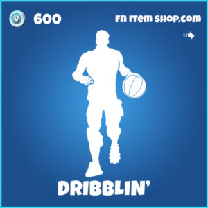 Dribblin' Fortnite NBA Emote