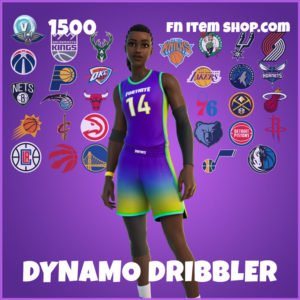Dynamo Dribbler Fortnite NBA Skin