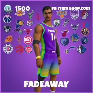 Fadeaway Fortnite NBA Skin