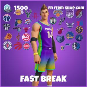 Fast Break Fortnite NBA Skin