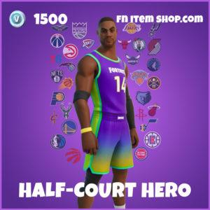 Half-Court Hero Fortnite NBA Skin