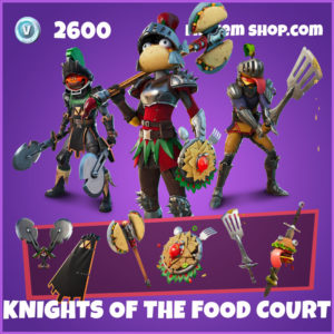 Knights of the food court fortnite bundle