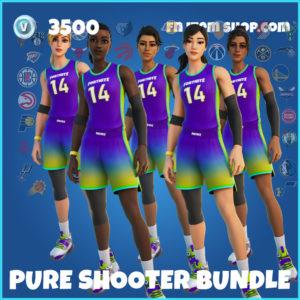 Pure Shooter Bundle Fortnite NBA Pack