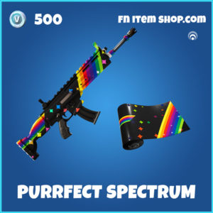Purrfect Spectrum Fortnite Wrap