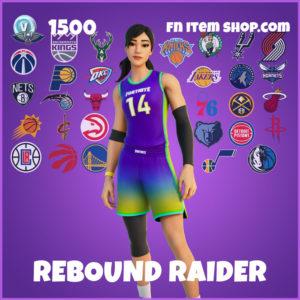 Rebound Raider Fortnite NBA Skin