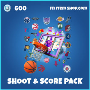 Shoot & Score Pack Fortnite NBA Bundle