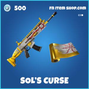 Sol's Curse Fortnite Wrap