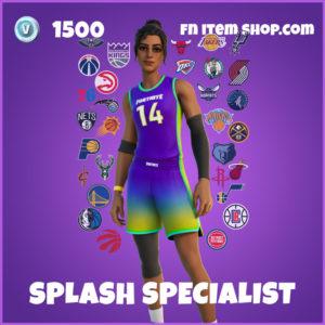 Splash Specialist Fortnite NBA Skin