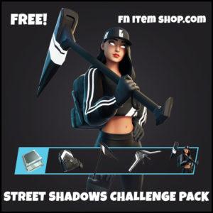 Street Shadows Challenge Pack Fortnite