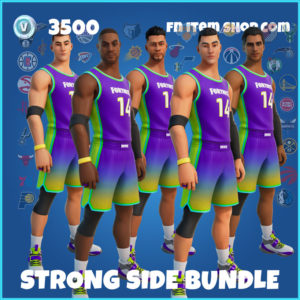 Strong Side Bundle Fortnite NBA Pack
