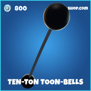 Ten-Ton Toon-Bells Fortnite pickaxe harvesting tool