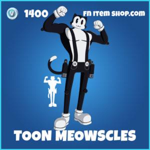 Toon Meowscles Fortnite Skin