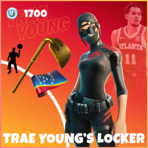 Trae Young's Locker Fortnite Bundle