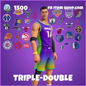 Triple-Double Fortnite NBA Skin