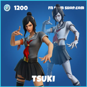 tsuki rare fortnite skin