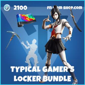 Typical Gamer's Locker Fortnite Bundle