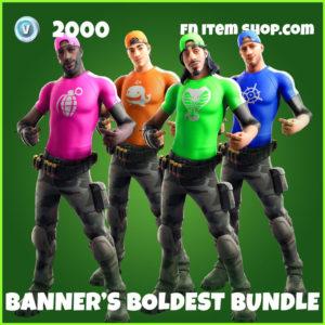 Banner's Boldest Fortnite Bundle