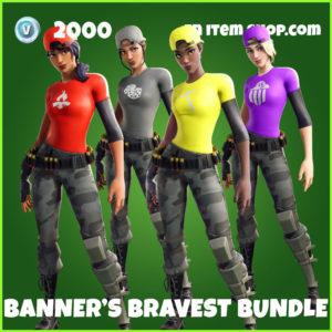 Banner's Bravest Fortnite Bundle