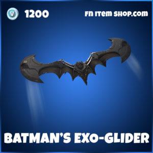 Batman's Exo-Glider Fortnite Glider