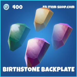Birthstone Backplate Fortnite Back Bling