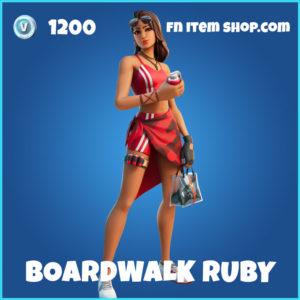 Boardwalk Ruby Fortnite Skin
