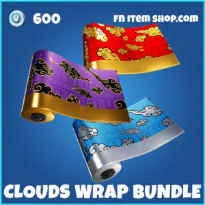 Clouds Wrap Fortnite Bundle